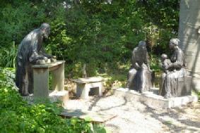 De Heilige Familie  in de Bijbelse Tuin in Hoofddorp