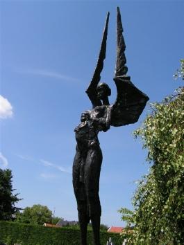 De Engel  in de Bijbelse Tuin in Hoofddorp