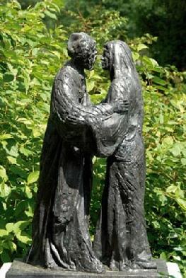 Joachim en Anna  in de Bijbelse Tuin in Hoofddorp